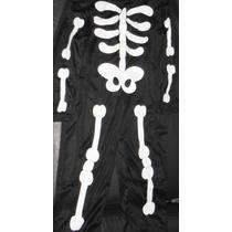 Disfraz Talla 3-4 Esqueleto Calavera Infantil Halloween E4f