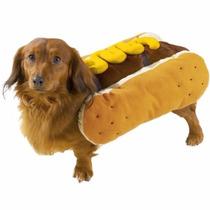 Disfraz De Hot Dog Para Perros Mascotas Envio Gratis