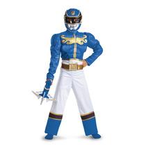 Disfraz De Power Ranger Azul Fiesta Piñata Entrega Inmediata