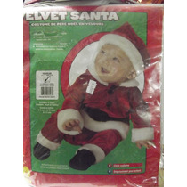 Dr.veneno Disfras Flece Santa With Belt 6-12meses
