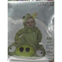 Dr.veneno Disfraz Angry Birds King 0-6 Meses