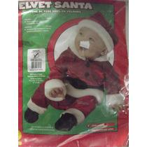 Dr.veneno Disfraz Velvet Santa 1a 2 Años Marca Rubies
