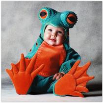 Disfraz De Rana Bebe Primavera Animales 6 A 18 Meses