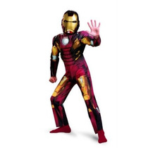 Avengers Iron Man Marcos 7 Classic Costume Muscle