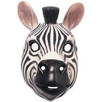 Vestuario Co Animal Mask-cebra Del Traje De Rubie