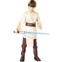 Deluxe Jedi Knight Vestuario De Star Wars Niño, Medio