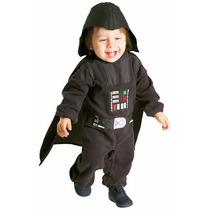 Disfraz Darth Vader Star Wars P/ Bebes Y Niños Envio Gratis