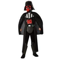 Disfraz De Darth Vader Con Luz De Star Wars Para Niños