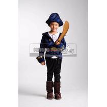 Disfraz Estilo Capitan Jake Y Los Piratas Del Nunca Jamas