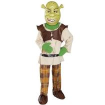 Disfraz De Shrek Para Niños, Envio Gratis
