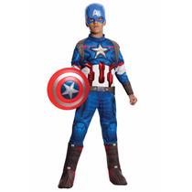 Disfraz Avengers 2 Ultron Capitan America 4/6 Años Entrega I