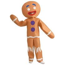 Shrek Gingy Gingerbread Man Halloween Costume - Niño