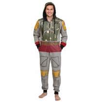 Pijama Mameluco De Boba Fett Star Wars Para Adultos