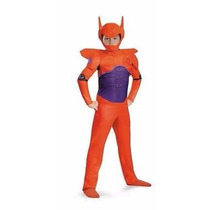 Disfraz Infantil Personaje Red Baymax, Talla Ch 4-6 Años