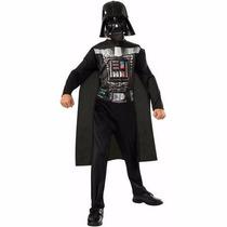 Disfraz Darth Vader Star Wars Niño Entrega Inmediata