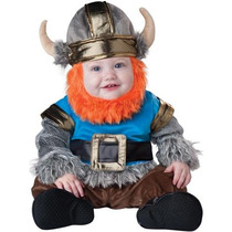 Disfraz De Vikingo Para Bebes, Envio Gratis
