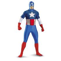 Disfraz De Capitan America Para Niños Y Adolescentes