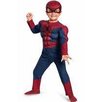 Disfraz Spiderman Hombre Araña 3/4 Años Original Entrega Inm