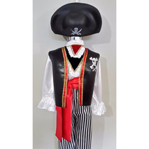 Disfraz Pirata Frankenstein Jack Squelligton Arlequin Niños