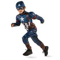 Disfraz Capitan America Disney Store Traje Civil War