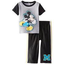 Mickey Mouse 2 Piezas Disney Niños Bebés