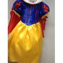 Vestido Blanca Nieves Para Tu Nena.