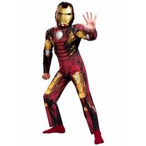 Disfraz Iron Man Talla 10/12 Años Original Entrega Inmediata