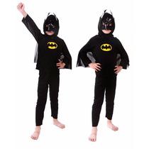 Disfraz De Batman Para Niño Talla Mediana Edades 5 A 6 Años