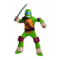 Disfraz Tortuga Ninja Original Para Niño - Leonardo
