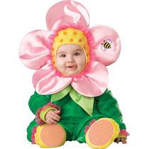 Disfraz De Flor Rosa Bebe Primavera Animales 6 A 24 Meses