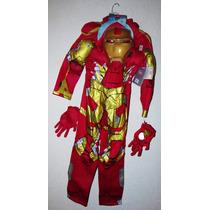 Disfraz Iron Man Disney Store 100% Original