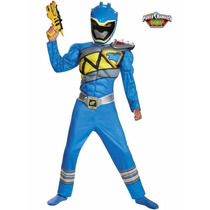 Disfraz Power Rangers Dino Charge Talla 4/6 Ó 7/8 Entrega In