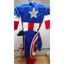 Disfraz Capitán America Para Niños