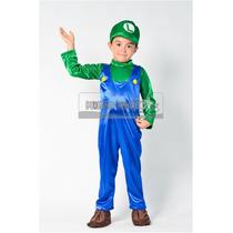 Disfraz Estilo Luigi