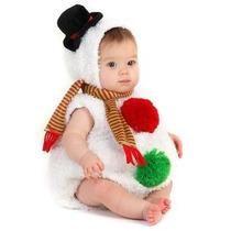 Disfraz De Mono De Nieve De Navidad Para Bebes