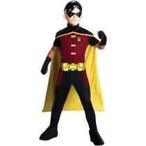 Disfraz De Robin De Batman Para Niños, Envio Gratis