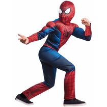 Disfraz De Spiderman Hombre Araña Para Niños Envio Gratis