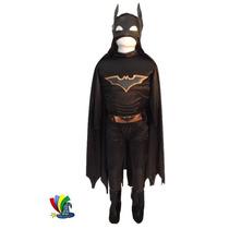 Disfraz Batman Caballero De La Noche Niño C/musculos