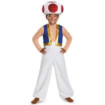 Super Mario Bros. Niños Sapo De Disfraces De Halloween - Tam