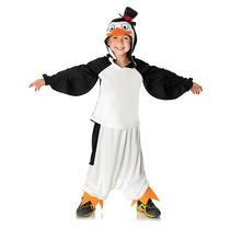 Madagascar Skipper Del Traje De Halloween Del Pingüino - Tam
