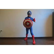 Disfraz Capitan America Calidad Premium