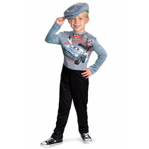 Disfraz Disney Finn Mcmissle Cars Niño Mcqueen 3 A 4 Años