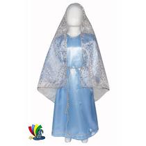 Disfraz Navidad Virgen Maria Niña Pastorelas
