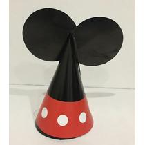 Gorro Fiesta Niño Mouse Rojo