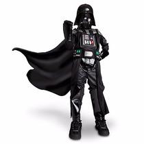 Disfraz Star Wars Dark Vader Disney Store 2015 Talla 5/6