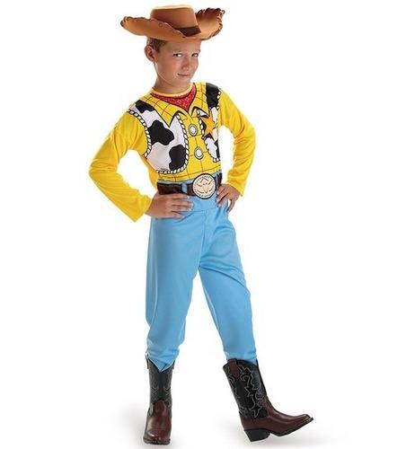 Disfraz Niño Disney Toy Story Woody Vaquero Talla 7/8 Años - $ 500 ...