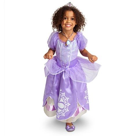 Disfraz Princesita Sofia Original Disney 7/8 Años Entrega In ...