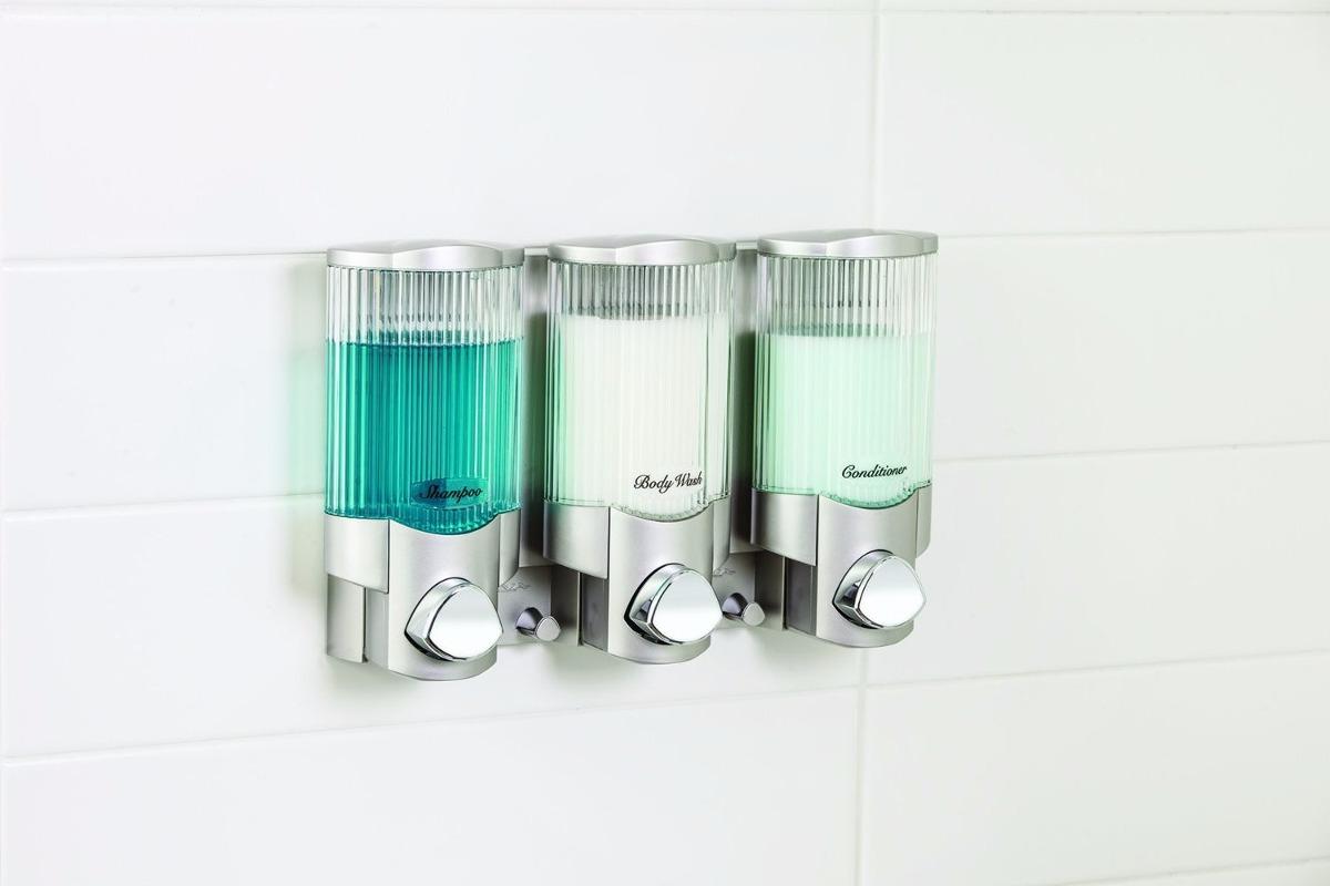 Dispensador de jabon liquido shampoo ba o despachador for Dispensador de jabon