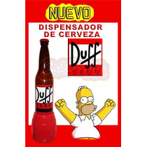 Duff Dispensador Para Cerveza 3 Lts Beer Gaussini Glow Bar