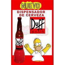 Duff Dispensador Para Cerveza 3 Lts Beer Gaussini Glow Bar